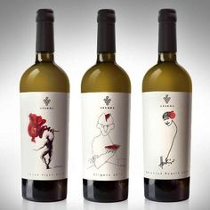 The Coolest Wine Labels of Spring can find Wine labels and more on our website.The Coolest Wine Labels of Spring 2016 Cooking With White Wine, Wine Logo, Wine Packaging, Design Packaging, Coffee Packaging, Wine Bottle Labels, Beer Labels, Wine Bottles, Red Wine Glasses