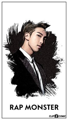 RAPMONSTER wallpaper