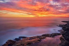 The East Coast of Australia is a truly stunning place to watch the sunrise.  I make sure I get up every day before the sun rises so I can capture this beautiful time of day.... #sunrise #oceanphotography #nature #sydney #australia