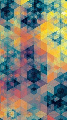 幾何学模様 | スマホ壁紙/iPhone待受画像ギャラリー