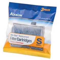 Aqueon 06076 Filter Cartridge Small 3Pack ** Click image for more details. (Note:Amazon affiliate link) #BestSellerBelow10