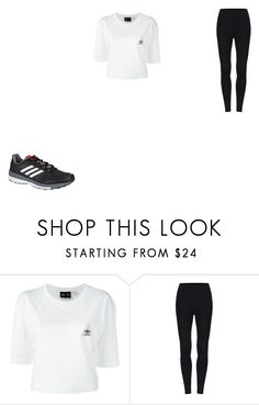 """Untitled #86"" by lilymadoxx on Polyvore featuring adidas"