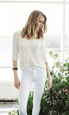 Must-have white denim for summer. Explore the collection at http://us.mavi.com/
