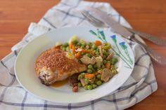 Churrasco de pollo con mojo rojo | Comer con poco