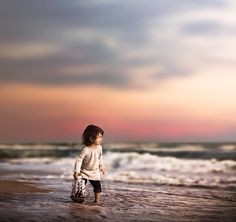 Into The Waves by LiliaAlvarado