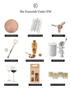 ideas apartment essentials checklist bar carts for 2019 Black Bar Cart, Gold Bar Cart, Diy Bar Cart, Bar Cart Decor, Bar Cart Essentials, Outside Bars, Apartment Essentials, Apartment Ideas, Apartment Kitchen