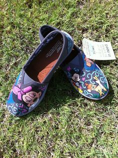 Disney Toms.. Perfect to wear to the Disney parks :)