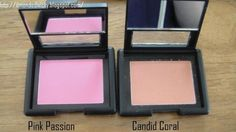 Pink Passion (#83137), Candid Coral (#83133) http://www.eyeslipsface.fr/produit-beaute/blush-studio