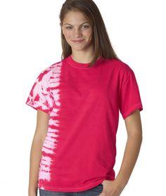 dyenomite youth tonal fusion tee - pink (s)