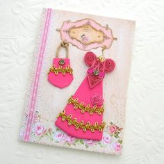 Paper Quilling Greeting Card Paper Quilled by EnchantedQuilling, $8.25