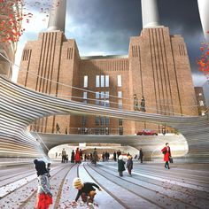 BIG reveals design for malaysia square at battersea power station