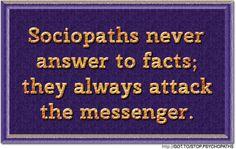 sociopath blame victim | See also: The Smear Campaign—Trademark of a Sociopath Sociopaths and ...