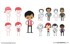simple 2d characters - Google Search