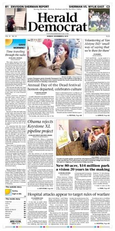 Here's the #SneakPeek of our #SundayFrontPage! See more at @heralddemocrat online at http://heralddemocrat.com/
