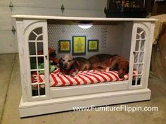 nice dog house or play area for the kids or Ollie's new dog crate!