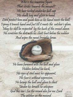 To my Pitcher!!