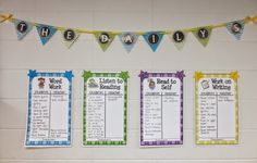 Ideas for setting up Daily 5 in a 2nd grade classroom but can easily be adapted for 5th grade.