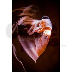 Heart of Antelope Canyon Greeting Card by AndreaKing
