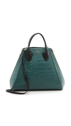 Pour La Victoire Yves Tote. adore the structure of this bag, and the color!