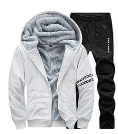 ac1a1df08f7 Winter Men Set Hoodies Sport Tracksuit For Mens Sweat Suits ...