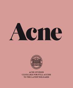 Acne fashion <3