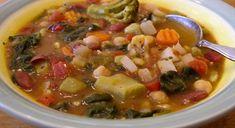 Easy Bean and Vegetable Soup | Vegan & Gluten Free - Super easy if using frozen vegetables