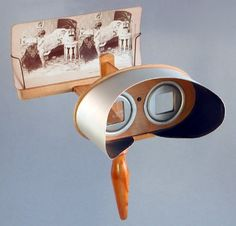 Stereoscope by Sir Charles Wheatstone 1838