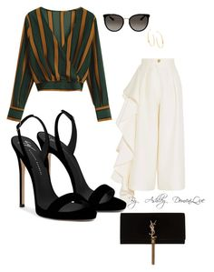 """By AD"" by ashleydomenique on Polyvore featuring Solace, Yves Saint Laurent, Gucci, Lana and Giuseppe Zanotti"