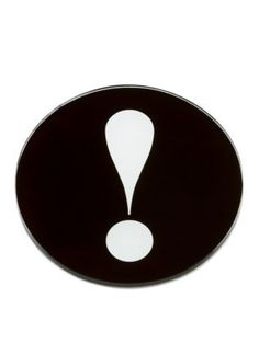 exclamation point round dish - kate spade new york