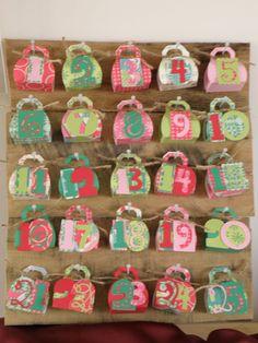 FREE cut file My Crafty Life...: Freebie - No Glue Purse Favour Box! makes excellent advent.