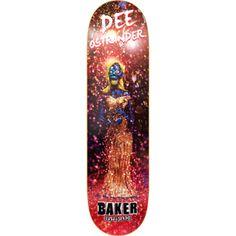 Dee Ostrander Obey Deck 8.25 – baker skateboards