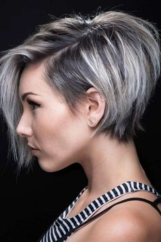 If you are looking for a new style then why not think about cutting your hair? We love new short hairstyles, especially now that spring is right around the corner. There are so many new and interesting ways that you can cut your hair.