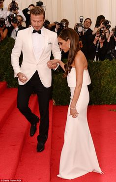 DB&VB: What a gent: The handsome sportsman helped his wife up the steps