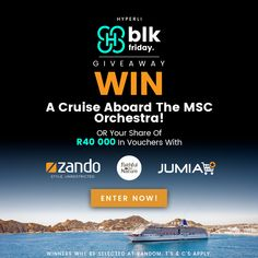 🔥 WIN 🔥 a MSC cruise 🛳️ OR your share of 000 in vouchers 💸 with Hyperli, Zando, Jumia & Faithful to Nature! Msc Cruises, Denmark Travel, Competition Time, Wedding Shower Games, Advertising And Promotion, Educational Websites, Cruise Travel, Public Relations