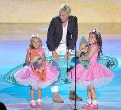 Las niñas del Show de Ellen!!