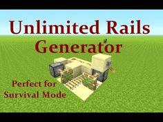 Minecraft Tutorial: Unlimited Rail Generator Works on Playstation, Xbox & PC – … - Tekno Hipercity