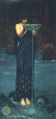 Circe Invidiosa, John W Waterhouse