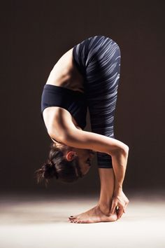 Uttanasana relaxes one from stress and anxiety