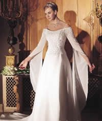 Bride's gown by Mary's/Mary's P.C.