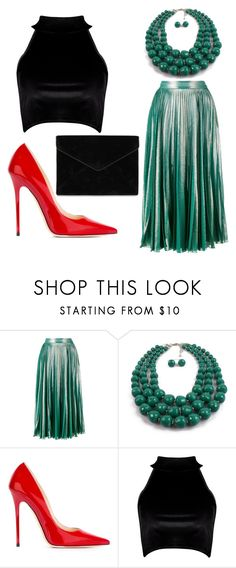"""""""Untitled #181"""" by irinamiriam ❤ liked on Polyvore featuring Gucci, Jimmy Choo, Boohoo and Rebecca Minkoff"""