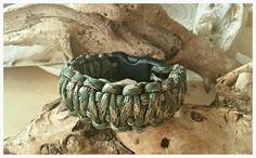 Paracord bracelet King Cobra weave 'Combat'