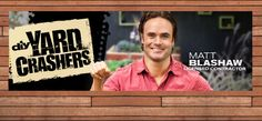 """#DIY CELEB MATT BLASHAW OF YARD CRASHERS.  Matt Blashaw is on the prowl at a Lowe's #Home Improvement Store when he surprises a couple and offers to makeover their yard! It's an episode of #HGTV & #DIY Network's popular hit TV show, """"Yard Crashers"""" hosted by this Hottie contractor from #California! Listen to podcast here: https://itun.es/i6FX79N"""