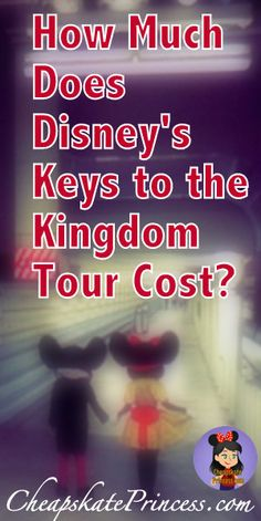 How much will the Keys to the Kingdom Tour Cost? Less than you think! | Disney World Extravagance | special tours at Disney World #disney #disneytips #disneytours #disneyworld #magickingdom