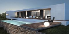 villa contemporaine près de Saint-Tropez