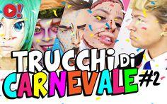 Idee per Carnevale! Ecco 5 trucchi imperdibili da provare subito Se sei alla ricerca del trucco perfetto per quest'anno, guarda queste cinque idee di sicuro effetto! Da Donald Trump (travestimento dell'anno!), fino al Cappellaio Matto di Alice in the Wonderland di #carnevale #makeup #trucco #maschera