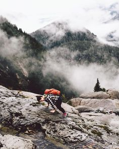 From Graeme Owsianski based in British Columbia: short legs tall mountain  #teamtopo #wanderlust
