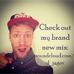 Check out my new mix on www.soundcloud.com/d_jager
