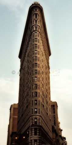 The Fuller Building (as it was originally called, named after its architect) aka the famous Flatiron Building, New York, NY