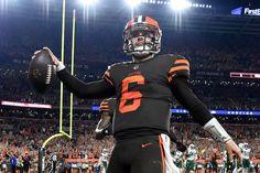 Baker Mayfield plants his flag as the Cleveland Browns quarterback  Doug  Lesmerises 4fcd46465