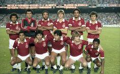 O Inter campeão do Joan Gamper em 1982 (Foto: Horacio Seguí/FC Barcelona)